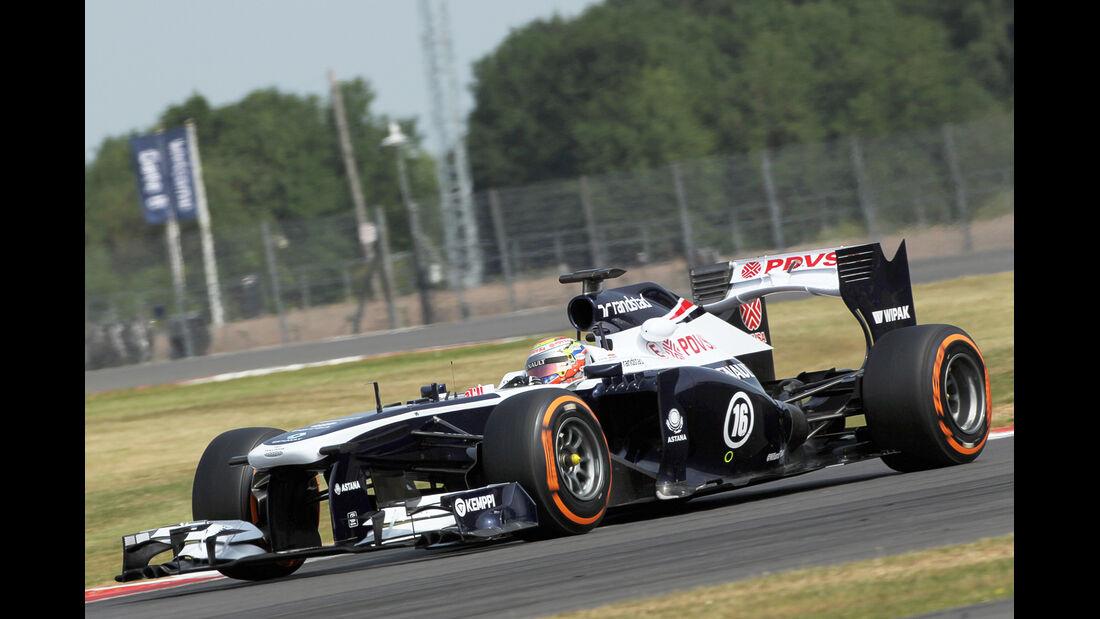 Pastor Maldonado - Williams - Formel 1 - Young Driver Test - Silverstone - 18. Juli 2013