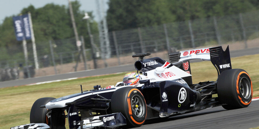 Pastor Maldonado - Williams - Formel 1 - Young Driver Test - Silverstone - 18. Juli 2013