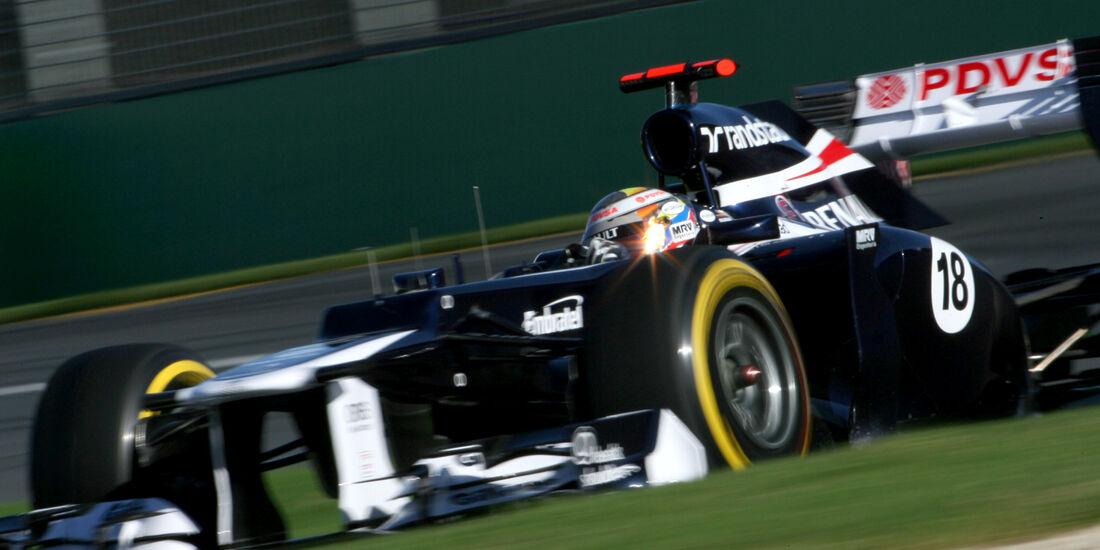 Pastor Maldonado Williams GP Australien 2012