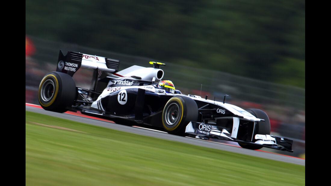 Pastor Maldonado Williams GP England 2011