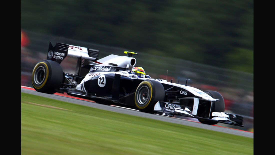 Pastor Maldonado Williams GP England 2011