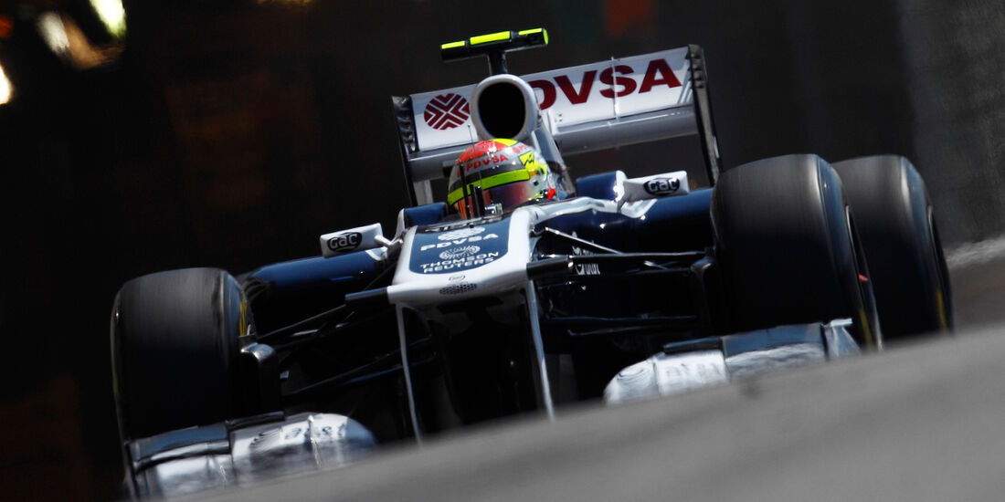 Pastor Maldonado - Williams - GP Monaco 2011