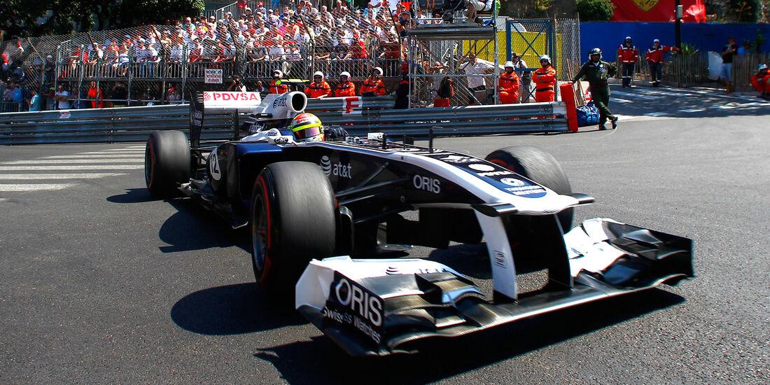 Pastor Maldonado - Williams - GP Monaco 2011