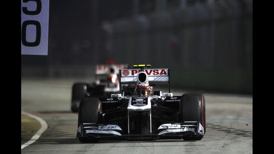 Pastor Maldonado Williams GP Singapur 2011