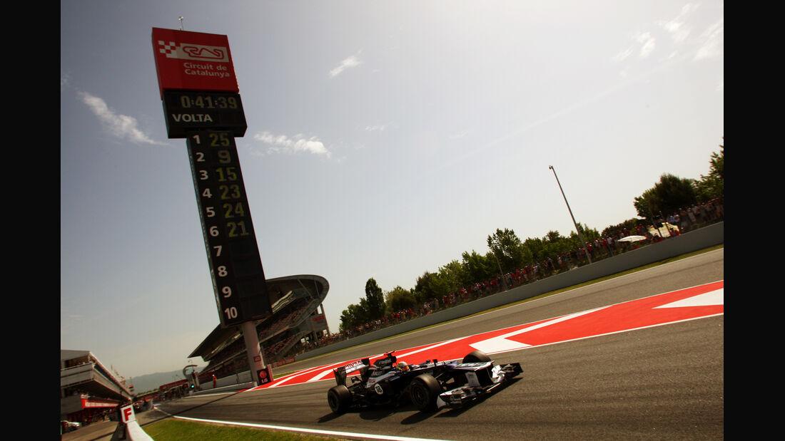 Pastor Maldonado - Williams - GP Spanien - 12. Mai 2012