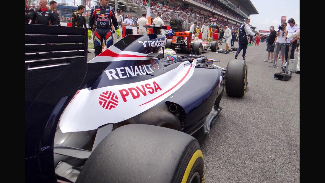 Pastor Maldonado - Williams - GP Spanien 2012