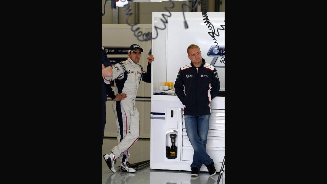 Pastor Maldonando Williams GP Türkei 2011