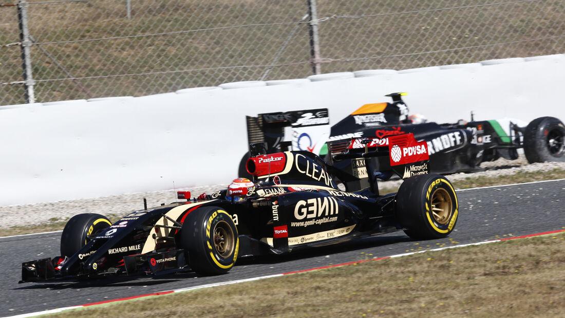 Pastos Maldonado - Lotus - Barcelona - F1 Test 2 - 14. Mai 2014