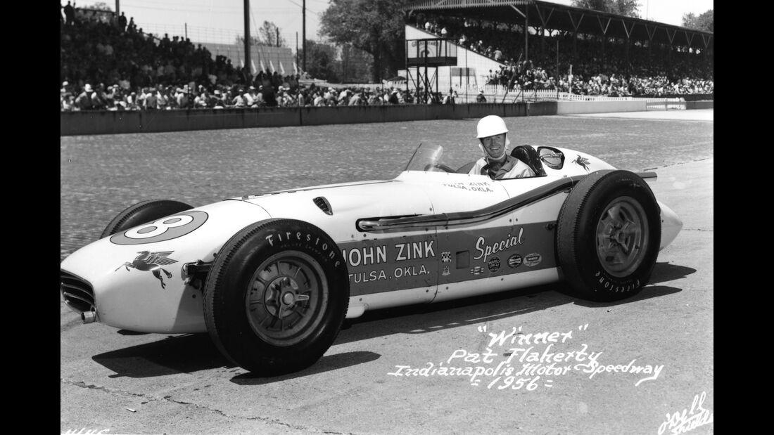 Pat Flaherty - Indy 500 - 1956 - Motorsport
