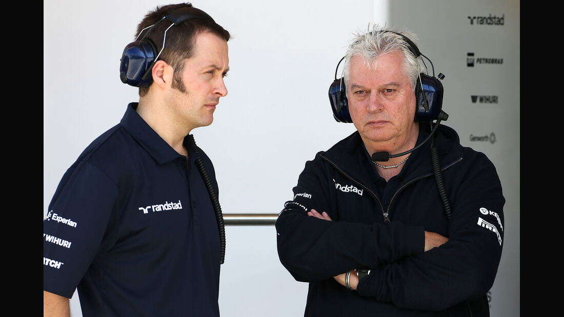 Pat Symonds - Williams - Formel 1 - Bahrain - Test - 21. Februar 2014