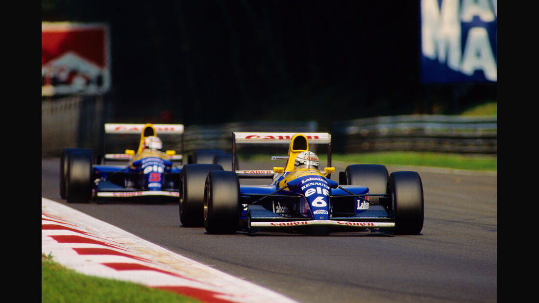 Patrese & Mansell - Williams - Formel 1 1992