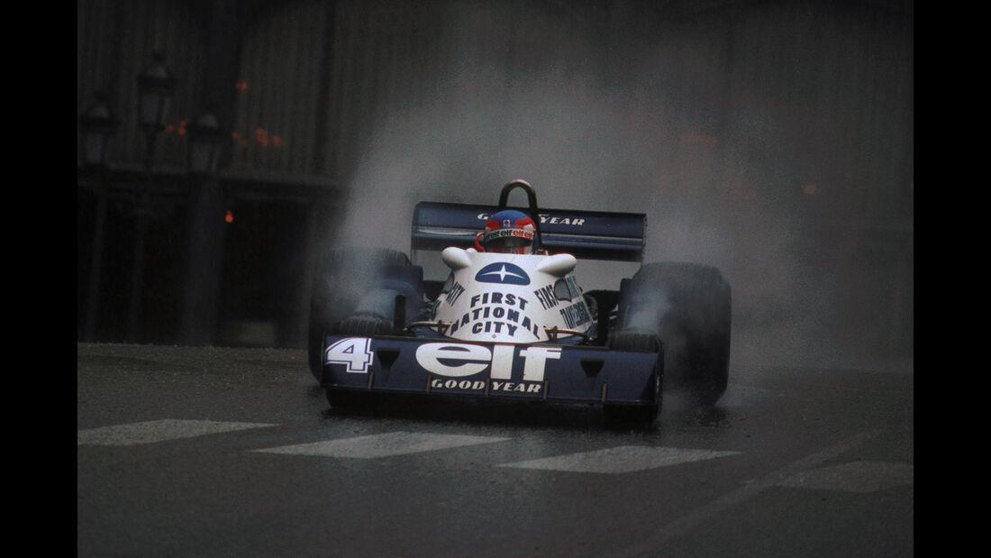 Patrick Depailler - Tyrrell - GP Monaco 1977