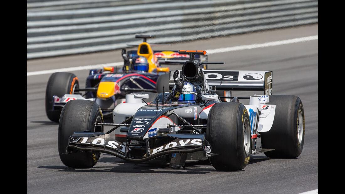 Patrick Friesacher - Minardi PS04 - GP-Legenden - GP Österreich 2014