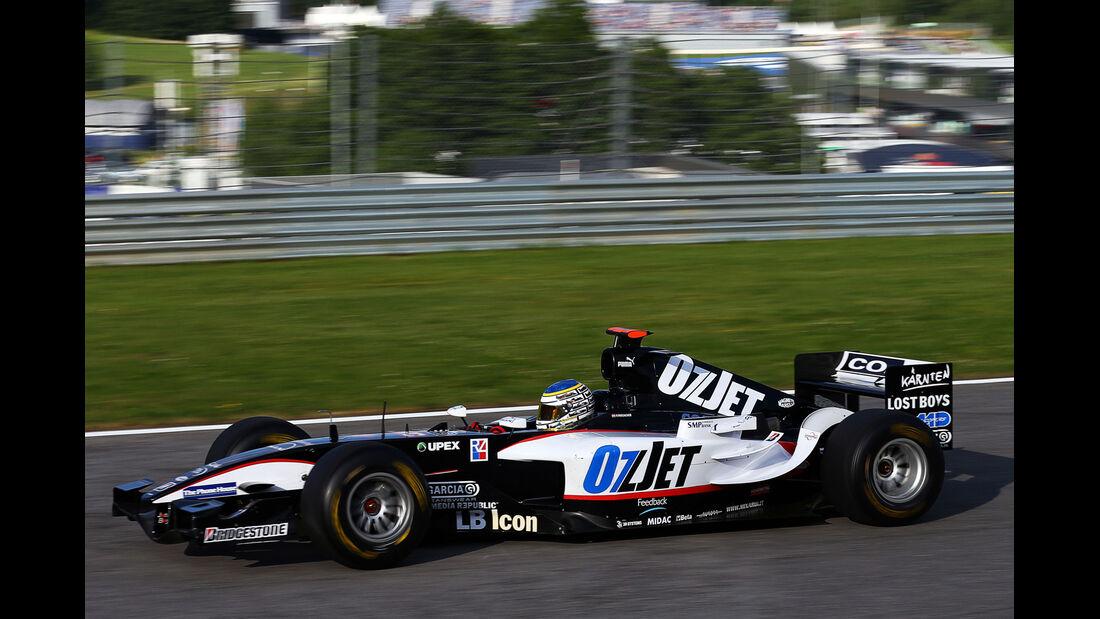 Patrick Friesacher - Minardi PS04B - GP Österreich 2014 - Legenden
