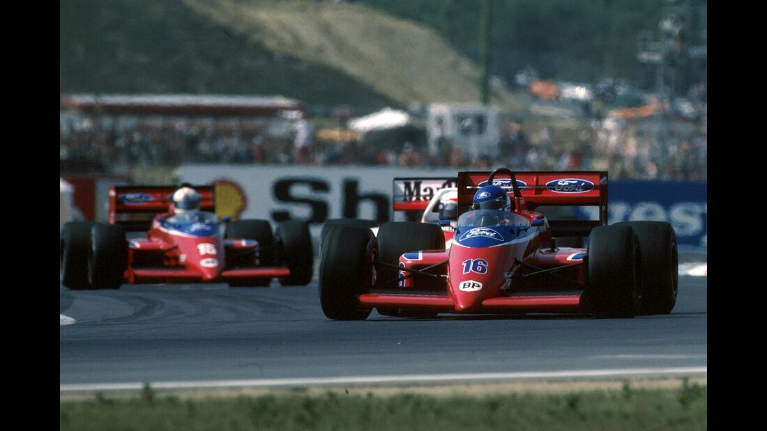Patrick Tambay - Formel 1 - GP Ungarn 1986