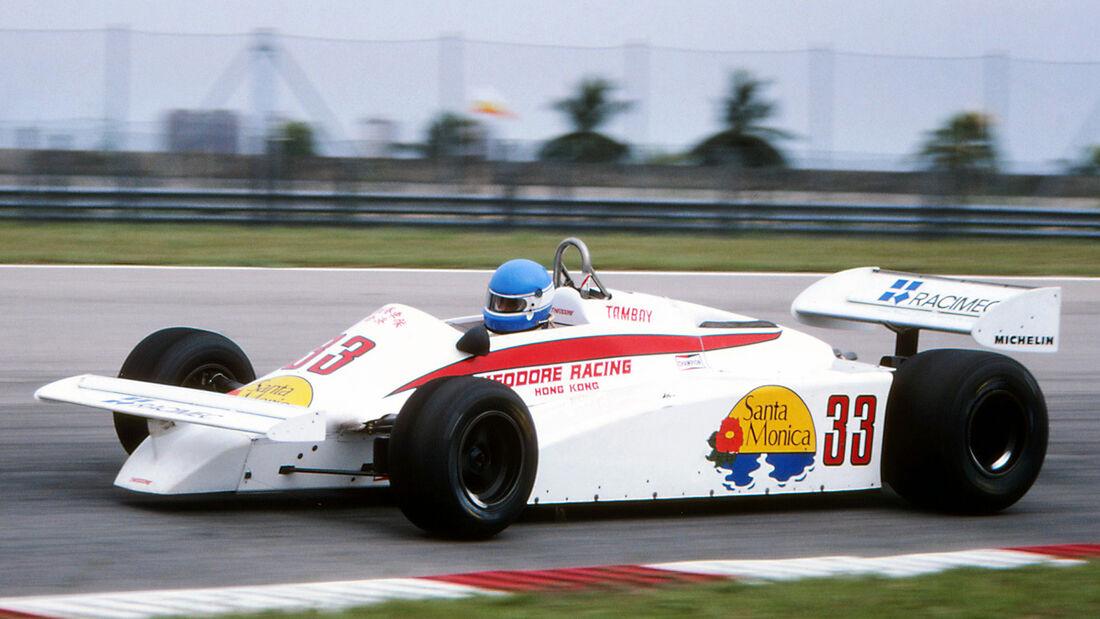 Patrick Tambay - Theodore TY01 - GP Brasilien 1981