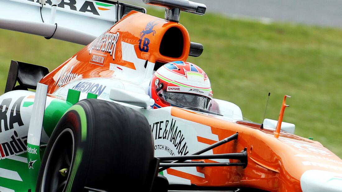 Paul Di Resta Force India 2013