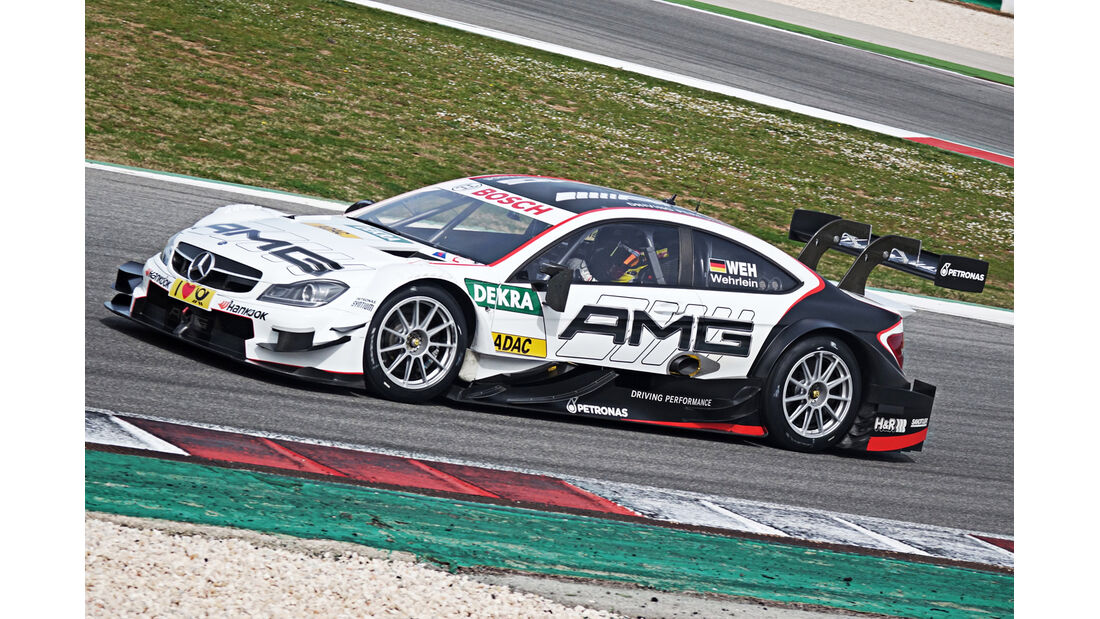 Paul Di Resta - Mercedes C63 DTM 2015