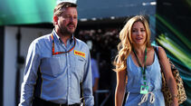 Paul Hembery - Pirelli - GP Belgien 2015