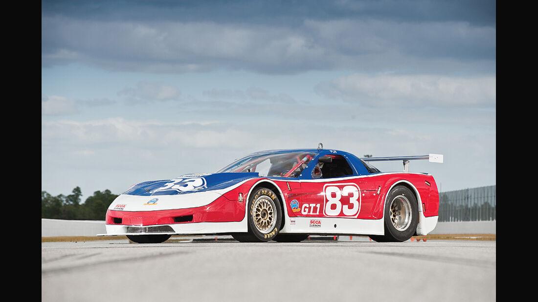 Paul Newman - 2002 Chevrolet Corvette Riley & Scott Racing Car