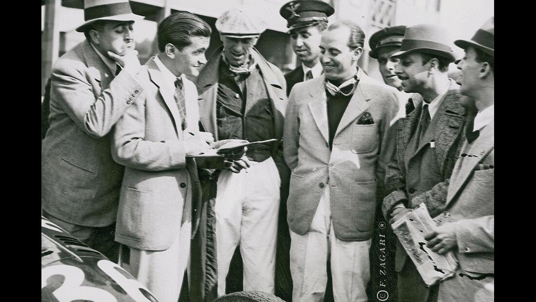 Paul Pietsch, 30. Targa Florio, Mario Morselli, 1939
