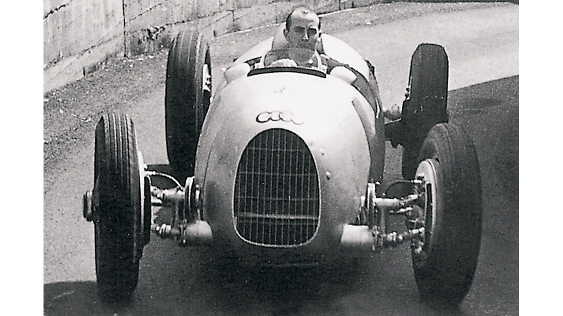 Paul Pietsch, Auto Union, Nürburgring, 1935