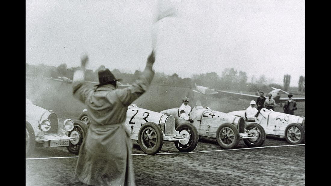 Paul Pietsch, Bugatti, Wiesbaden-Erbenheim, 1932