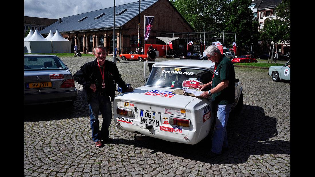Paul Pietsch Classic 2013, Tag 1, Alfa Romeo Giulia, mokla 0613