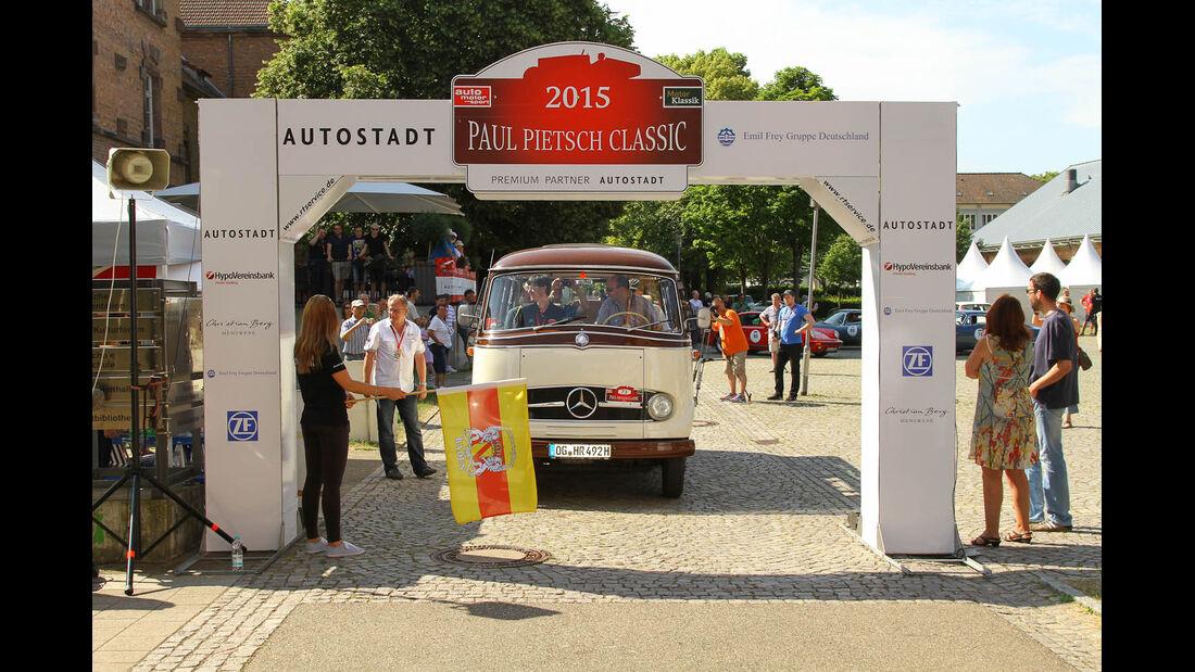 Paul Pietsch Classic 2015, Tag 2, MKL Leseraktion