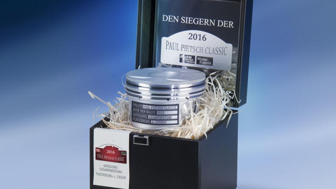 Paul Pietsch Classic 2016, Kolben-Pokale