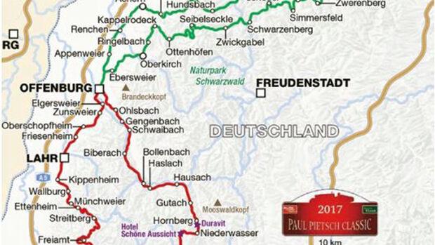 Paul Pietsch Classic 2017 - Route