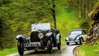 Paul Pietsch Classic 2017 Vorbericht, Bentley Speed 3-Litre, VW Käfer Cabrio Hebmüller