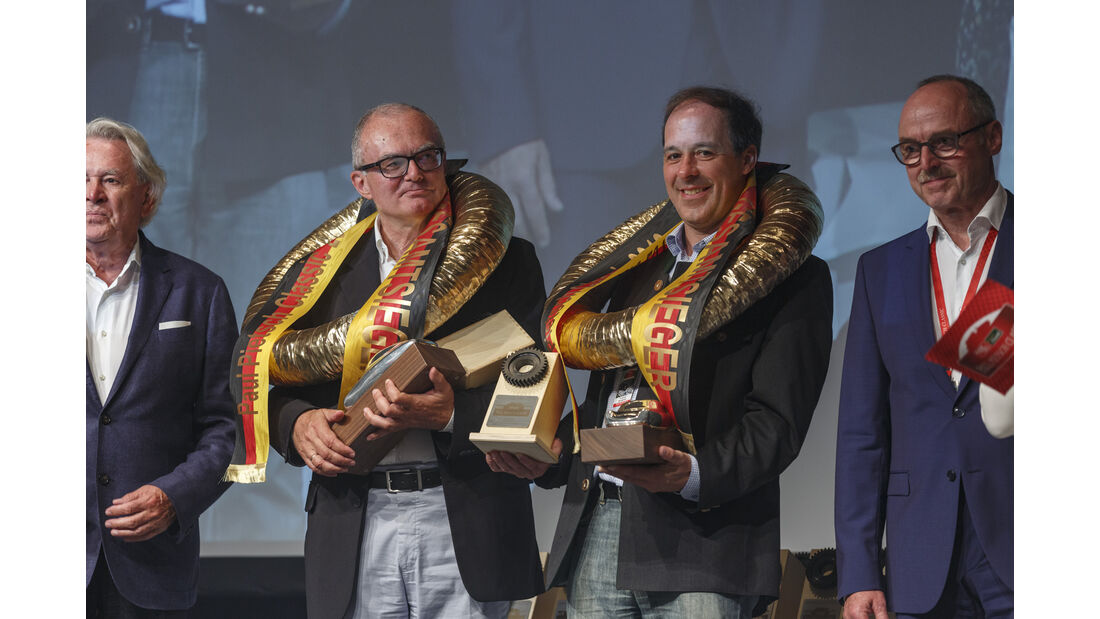 Paul Pietsch Classic 2018 Gesamtsieger: Startnummer 49, Dr. Norbert Griesmayr und Ferdinand Baumgartner im Mercedes-Benz 220 S von 1959