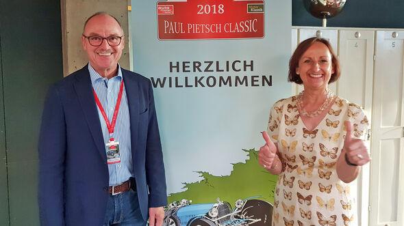 Paul Pietsch Classic 2018 Peter-Paul Pietsch und Patricia Scholten