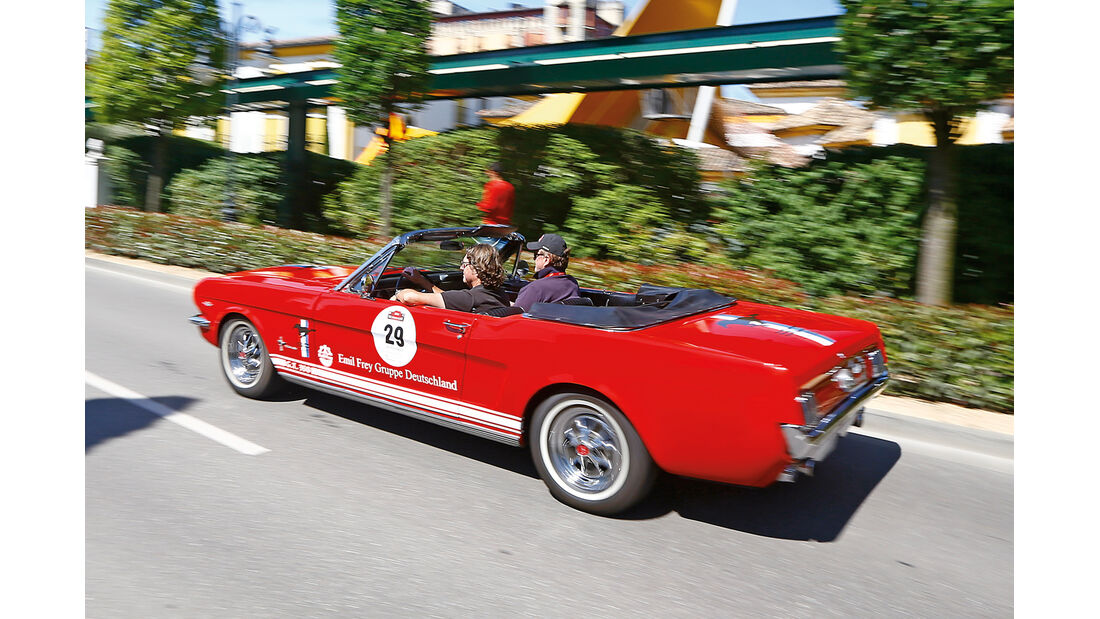 Paul Pietsch Classic, Ford Mustang Cabrio