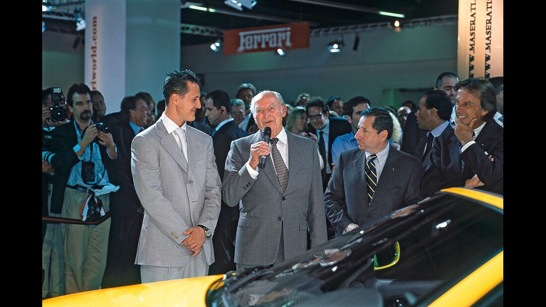 Paul Pietsch, Genfer Salon 2002, Michael Schumacher, Jean Todt