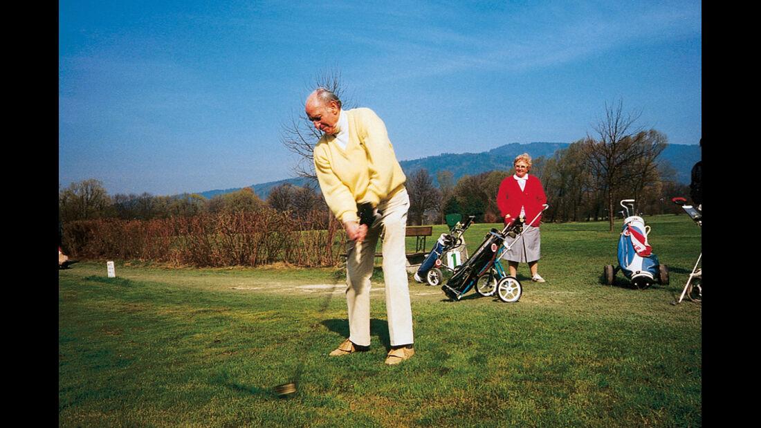 Paul Pietsch, Golf