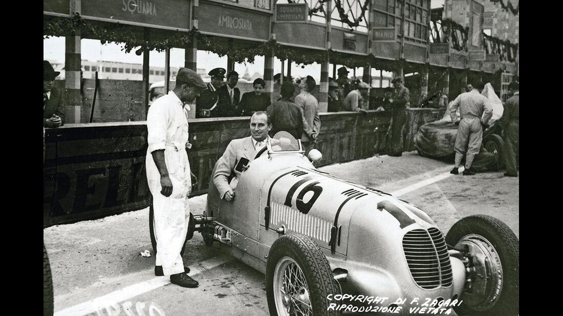 Paul Pietsch, Maserati 4CM, Palermo, 1938