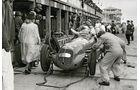 Paul Pietsch, Maserati 8CFT, GP Deutschland, Boxengasse, 1939