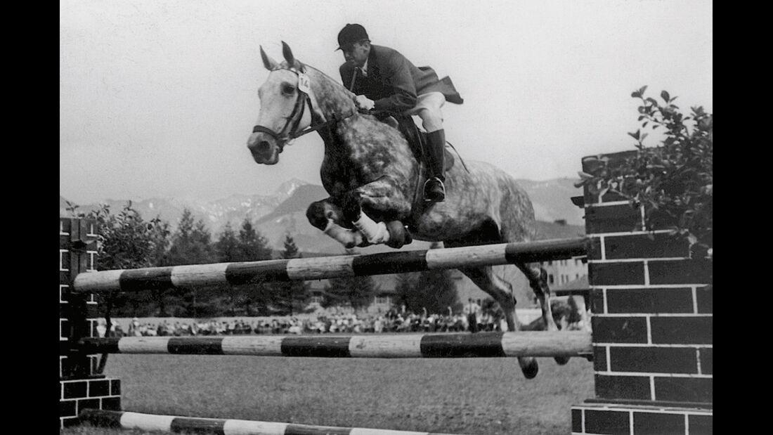 Paul Pietsch, Reiter, Springreiten