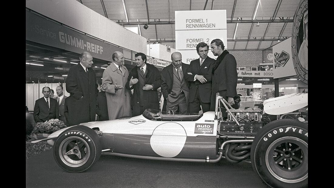 Paul Pietsch, Rolf Strommelen, Brabham BT 33, Bonnier, Fangio, Herrmann, Wieselmann, Formel 1, 1970