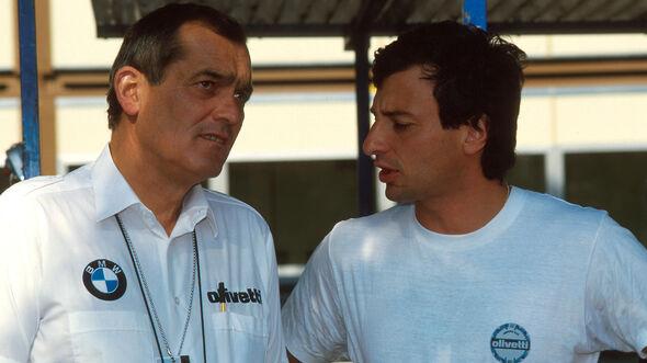 Paul Rosche - Ricardo Patrese - Brabham-BMW - 1987