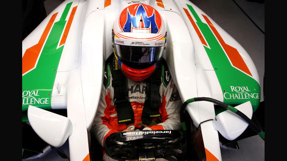 Paul di Resta - F1-Test - Barcelona 2012