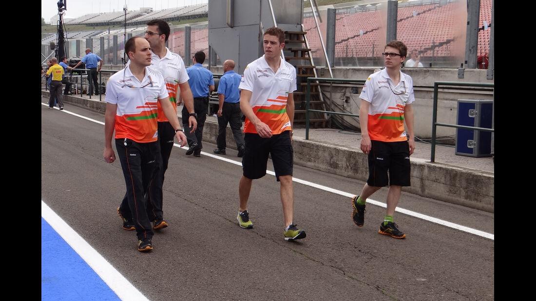 Paul di Resta - Force India - Formel 1 - Budapest - GP Ungarn - 26. Juli 2012