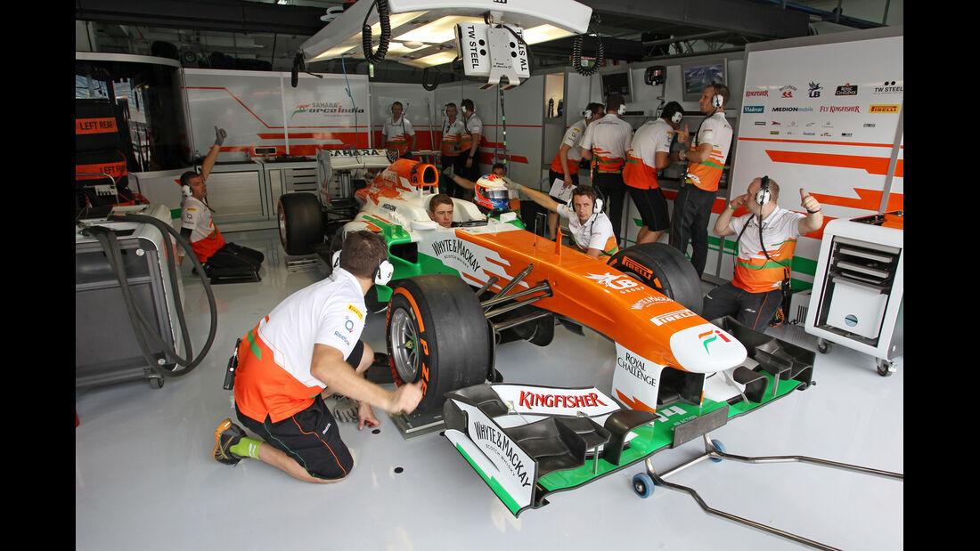 Paul di Resta - Force India - Formel 1 - GP Bahrain - 19. April 2013