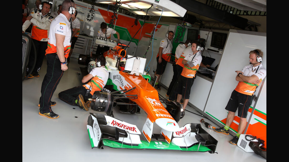 Paul di Resta - Force India - Formel 1 - GP Brasilien - Sao Paulo - 24. November 2012