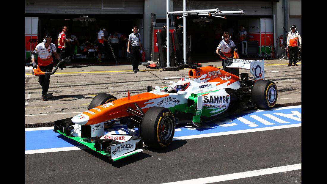 Paul di Resta - Force India - Formel 1 - GP Deutschland - 6. Juli 2013