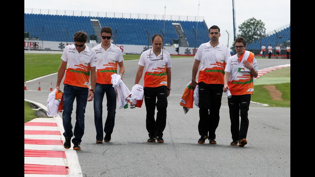Paul di Resta - Force India - Formel 1 - GP England - Silverstone - 5. Juli 2012