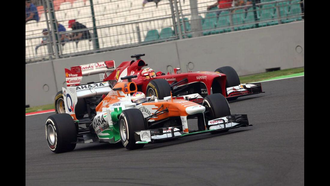 Paul di Resta - Force India - Formel 1 - GP Indien - 27. Oktober 2013