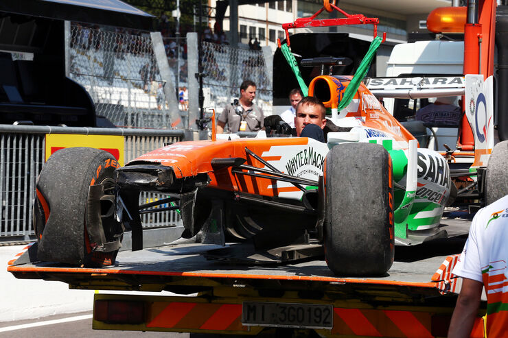 Paul di Resta - Force India - Formel 1 - GP Italien - 7. September 2013